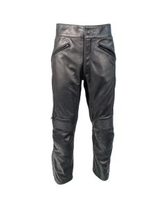 Richa Café  Regular Fit Leather Trousers Black
